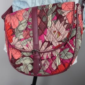Vera Bradley NWOT Bohemian Blooms Cross Body Purse